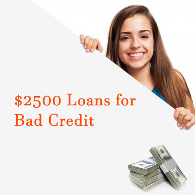 Get A Loan With Bad Credit >> 2500 Installment Loan For Bad Credit With No Credit Check